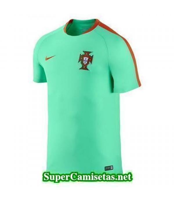 camiseta entrenamiento Portugal verde 2016 2017