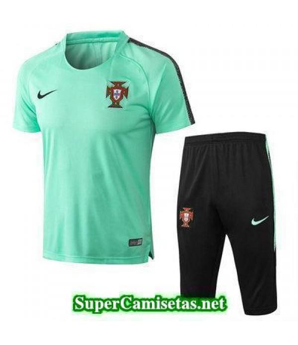 camiseta entrenamiento Portugal Verde 2018 2019