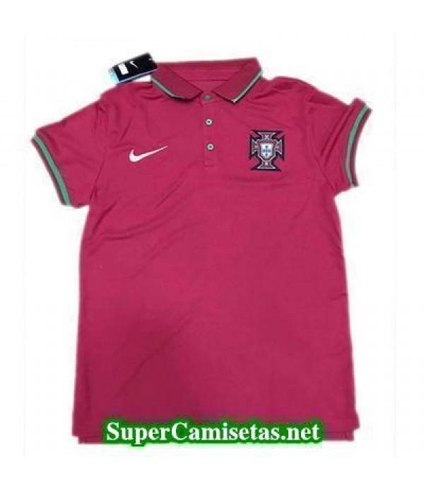 Camiseta polo Portugal Rojo 2016 2017