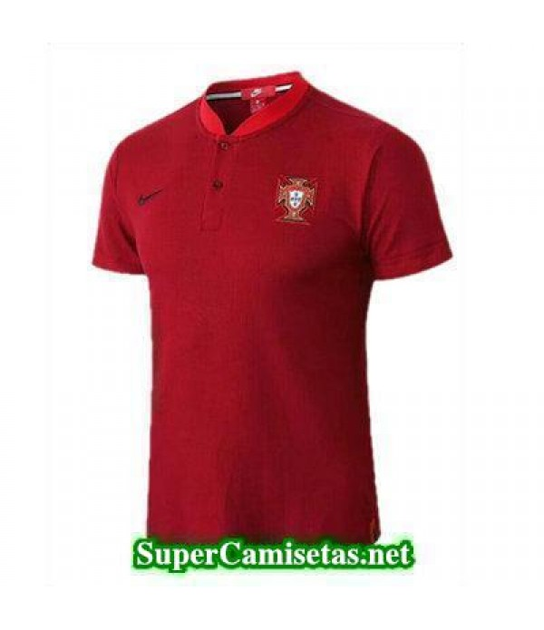 Camiseta polo Portugal Rojo 2018 2019