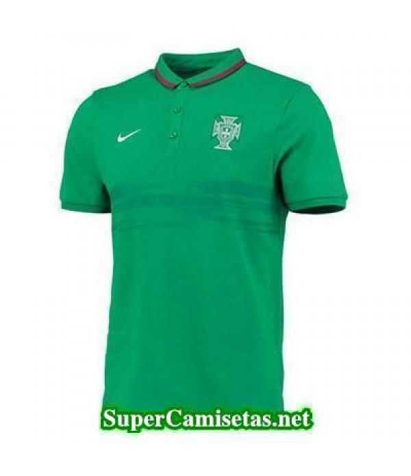 Camiseta polo Portugal Verde 2015 2016