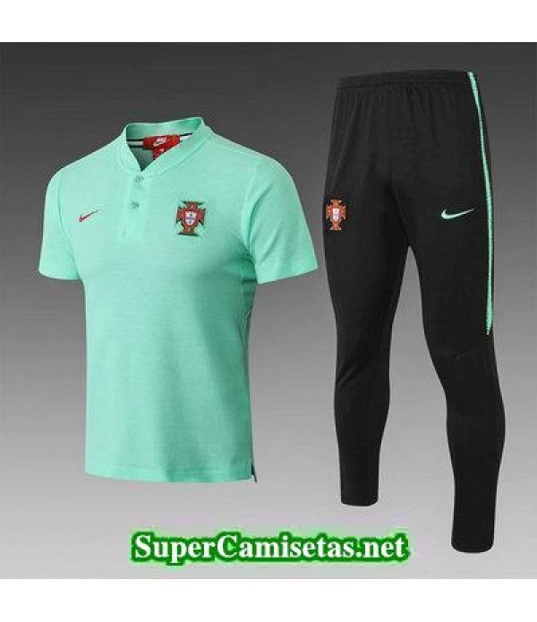 Camiseta polo Portugal Verde 2018 2019