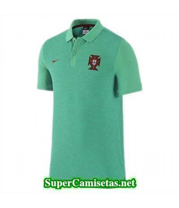 Camiseta polo Portugal Verde Eurocopa 2016