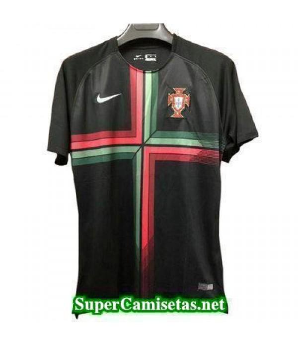 camiseta pre-partido Portugal Negro Copa Mundial 2...