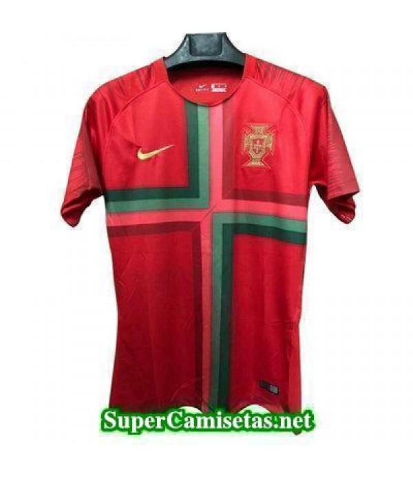 camiseta pre-partido Portugal Rojo Copa Mundial 2018 | supercamisetas 8206d22340c28