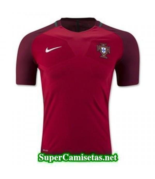 Primera Equipacion Camiseta Portugal Eurocopa 2016