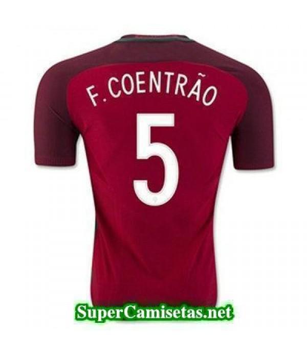 Primera Equipacion Camiseta Portugal F COENTRAO Eurocopa 2016