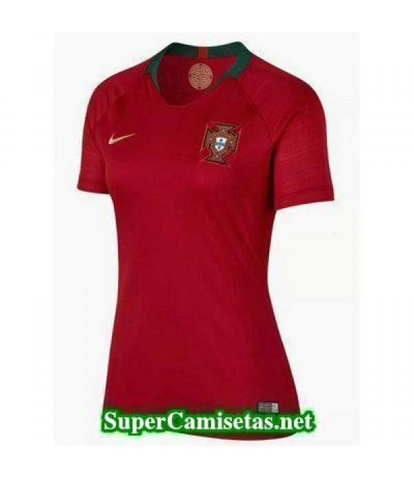 Primera Equipacion Camiseta Portugal Mujer Copa Mu...