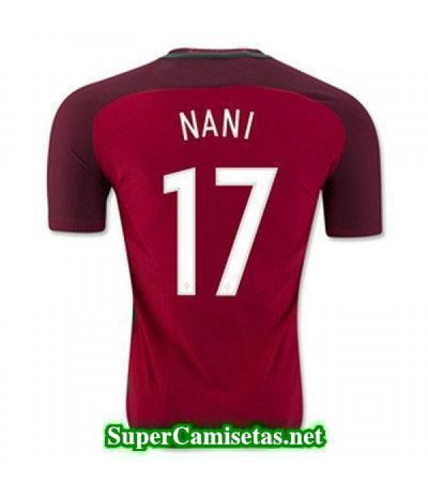 Primera Equipacion Camiseta Portugal NANI Eurocopa 2016