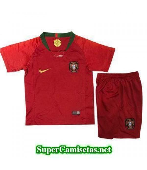 Primera Equipacion Camiseta Portugal Ninos Copa Mu...