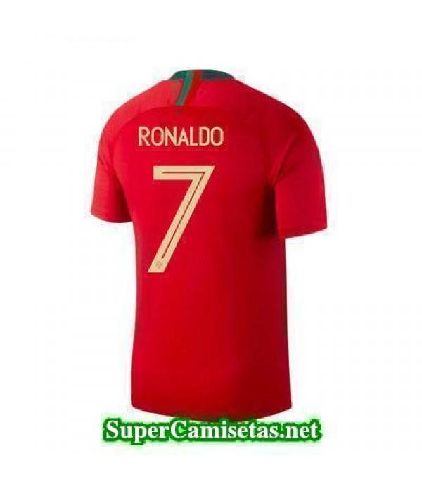 Primera Equipacion Camiseta Portugal Ronaldo Copa Mundial 2018