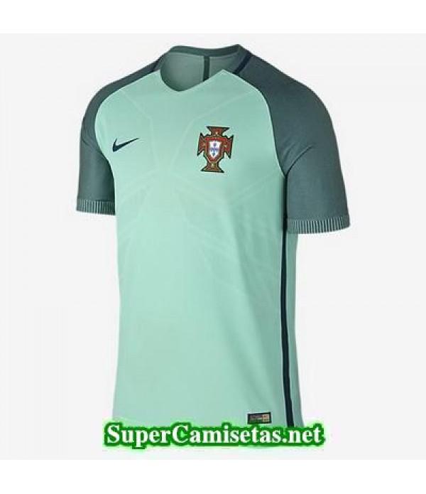 Segunda Equipacion Camiseta Portugal Eurocopa 2016