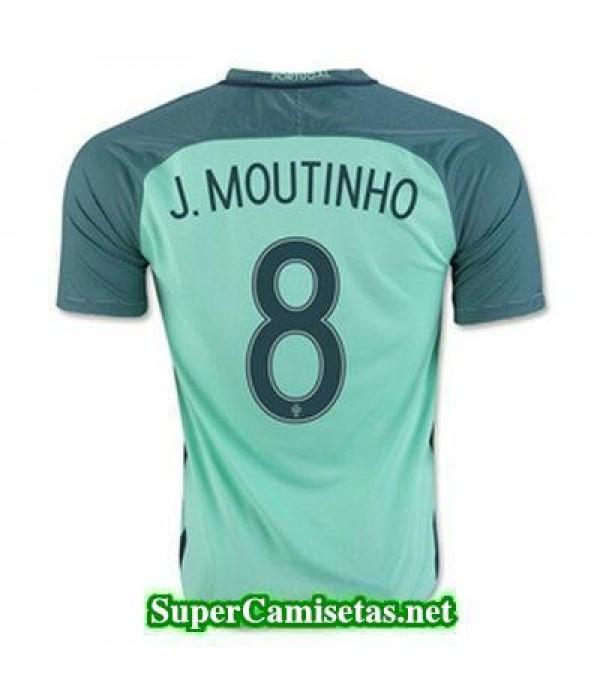 Segunda Equipacion Camiseta Portugal J MOUTINHO Eurocopa 2016