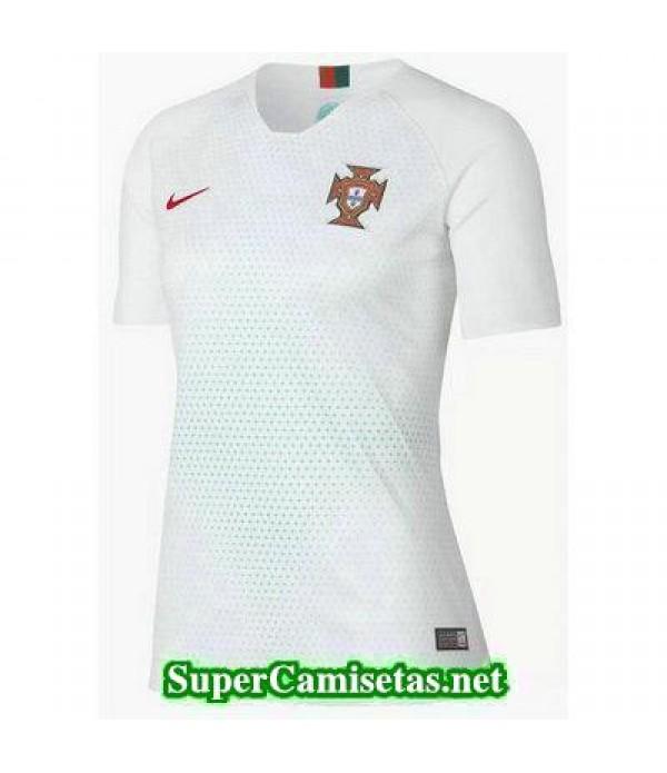 Segunda Equipacion Camiseta Portugal Mujer Copa Mundial 2018