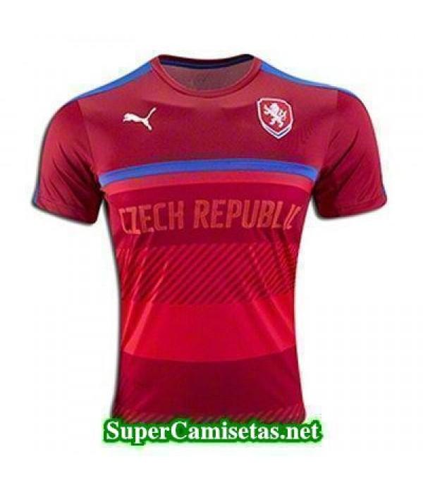 camiseta entrenamiento Rep.Checa Roja Eurocopa 2016