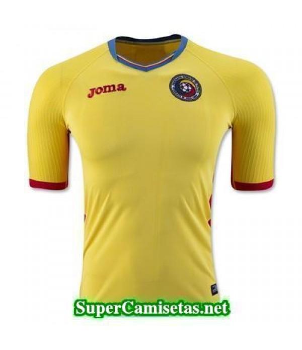 Tailandia Primera Equipacion Camiseta Romania Eurocopa 2016