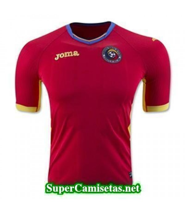 Tailandia Segunda Equipacion Camiseta Romania Eurocopa 2016