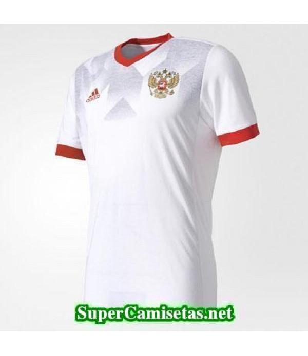 camiseta pre-partido Rusia Blanca 2016 2017