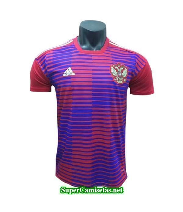 camiseta pre-partido Rusia Rojo Copa Mundial 2018