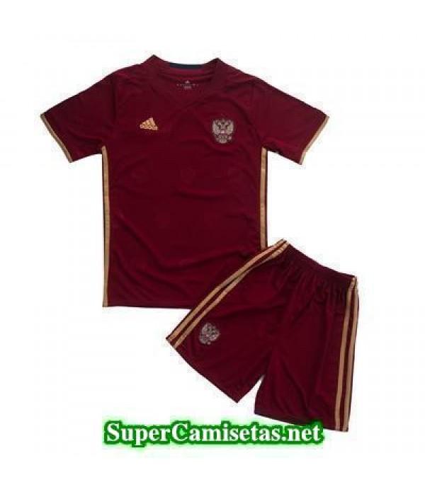 Primera Equipacion Camiseta Rusia Ninos Eurocopa 2016