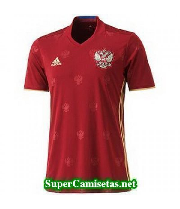 Tailandia Primera Equipacion Camiseta Rusia Eurocopa 2016