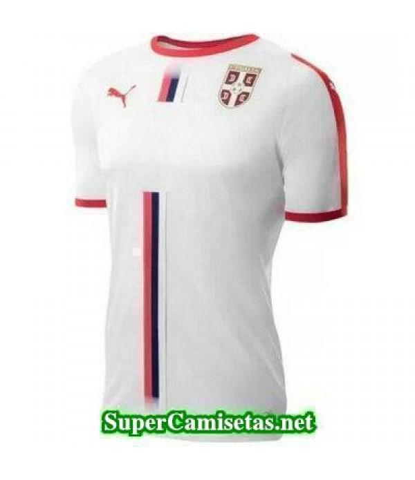 Segunda Equipacion Camiseta Serbia Copa Mundial 2018