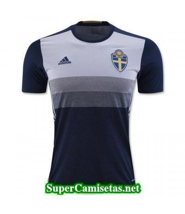Segunda Equipacion Camiseta Suecia Eurocopa 2016