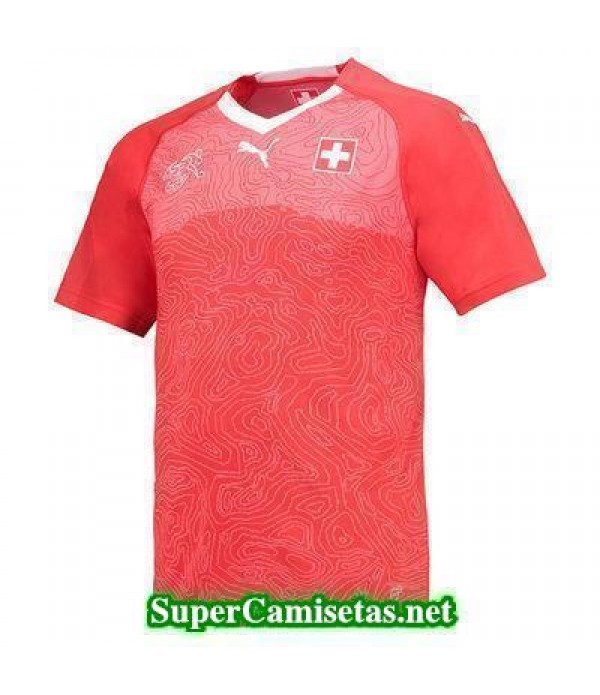 Primera Equipacion Camiseta Suiza Copa Mundial 2018