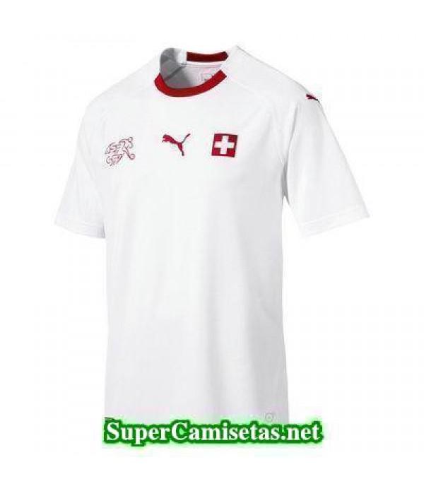 Segunda Equipacion Camiseta Suiza Copa Mundial 2018