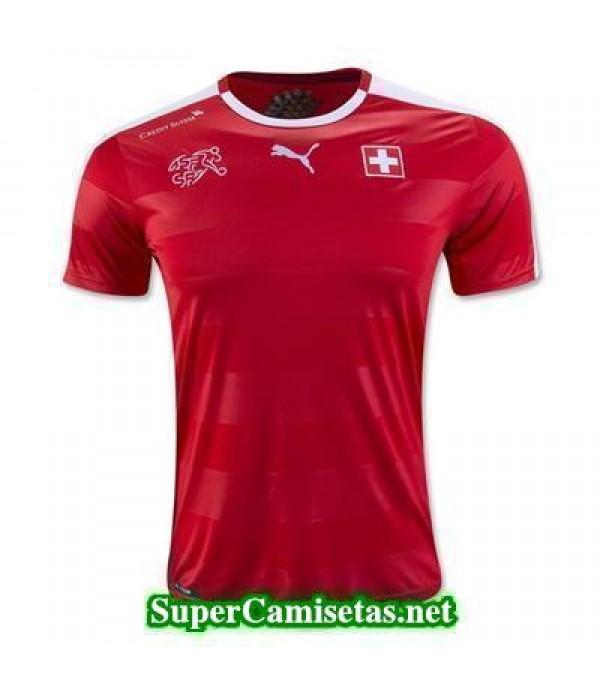 Tailandia Primera Equipacion Camiseta Suiza Eurocopa 2016
