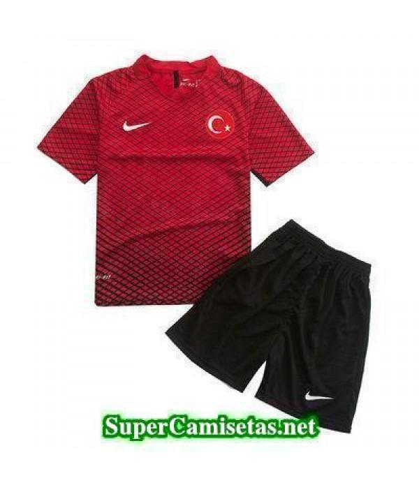 Primera Equipacion Camiseta Turquia Ninos Eurocopa 2016