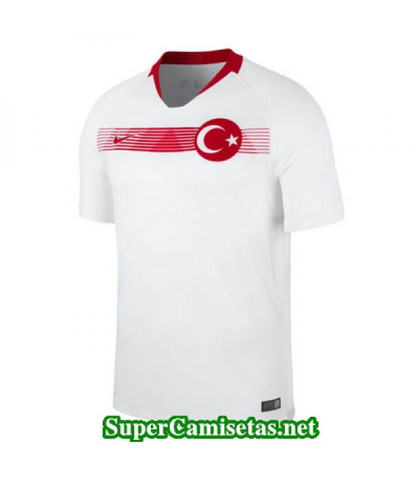 Segunda Equipacion Camiseta Turquia 2018 2019