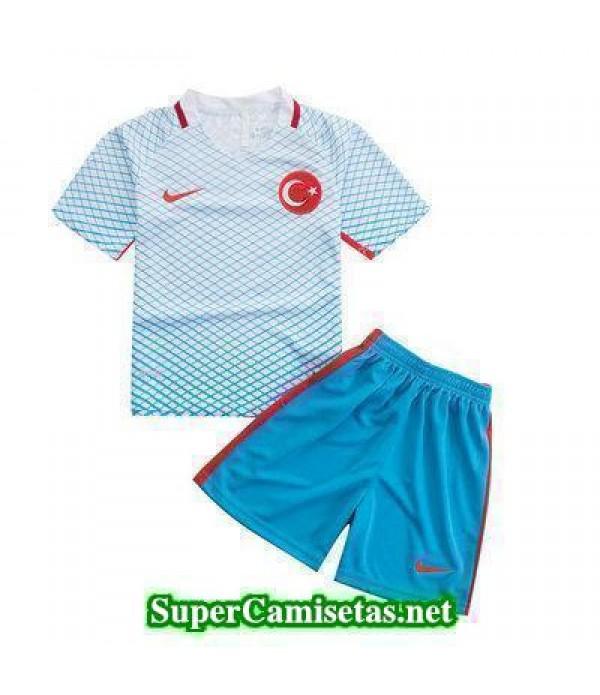 Segunda Equipacion Camiseta Turquia Ninos Eurocopa 2016