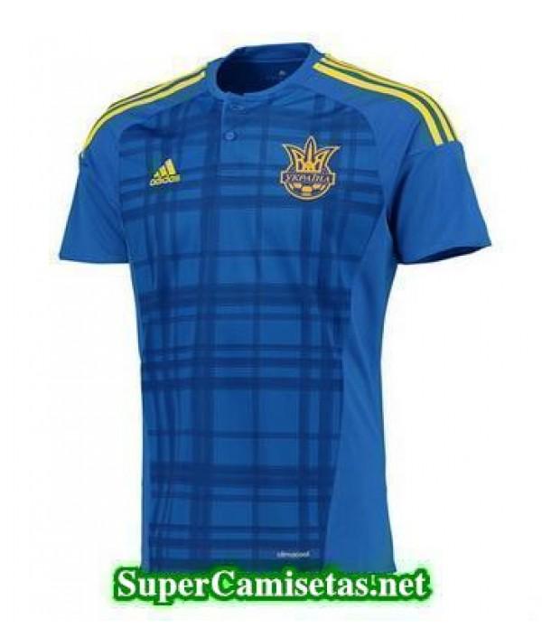 Segunda Equipacion Camiseta Ucrania Eurocopa 2016
