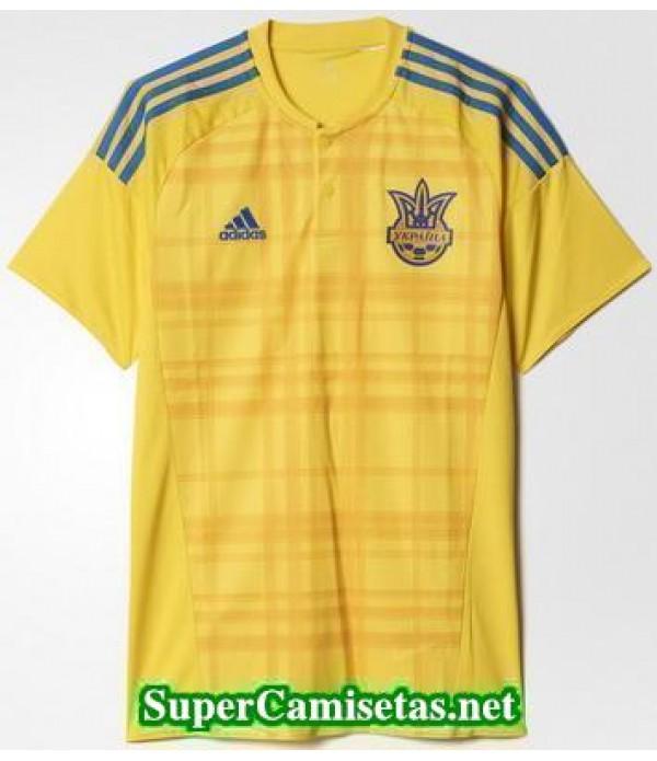 Tailandia Primera Equipacion Camiseta Ucrania Eurocopa 2016