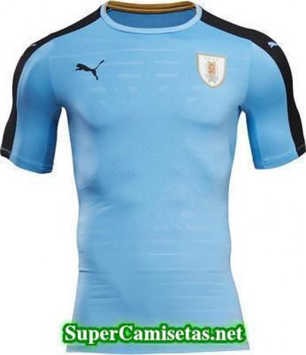 Primera Equipacion Camiseta Uruguay 2016/17