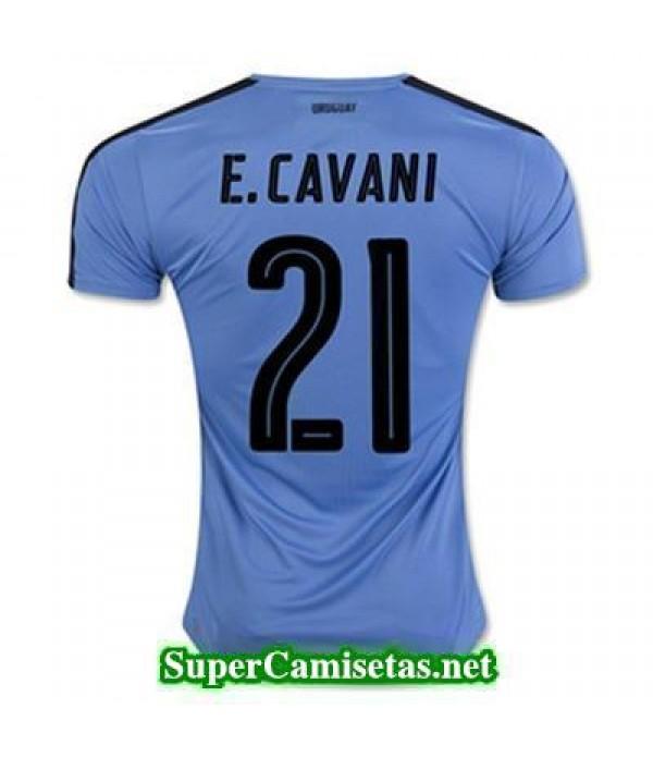 Primera Equipacion Camiseta Uruguay E CAVANI 2016/17