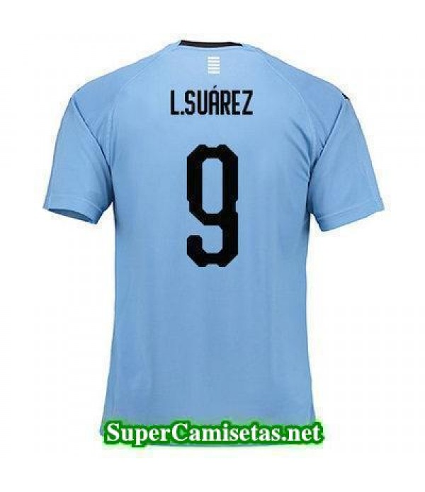 Primera Equipacion Camiseta Uruguay L Suarez Copa Mundial 2018