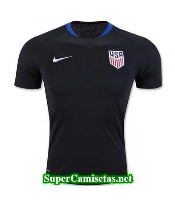 camiseta entrenamiento USA azul marino 2016 2017