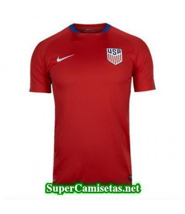 camiseta entrenamiento USA rojo 2016 2017