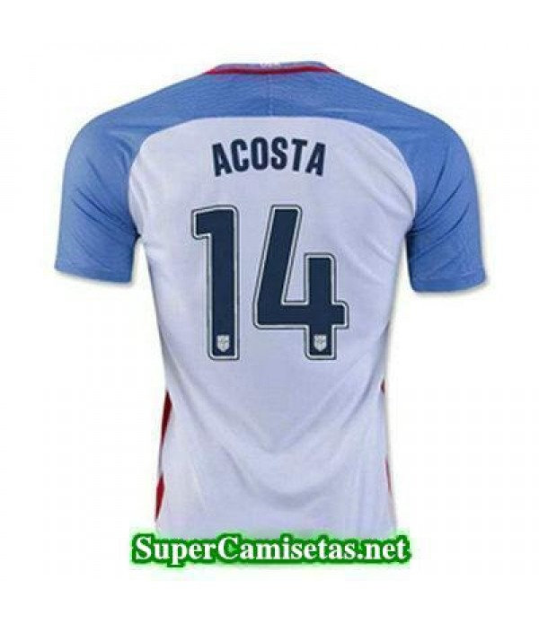Primera Equipacion Camiseta USA ACOSTA Copa America 2016