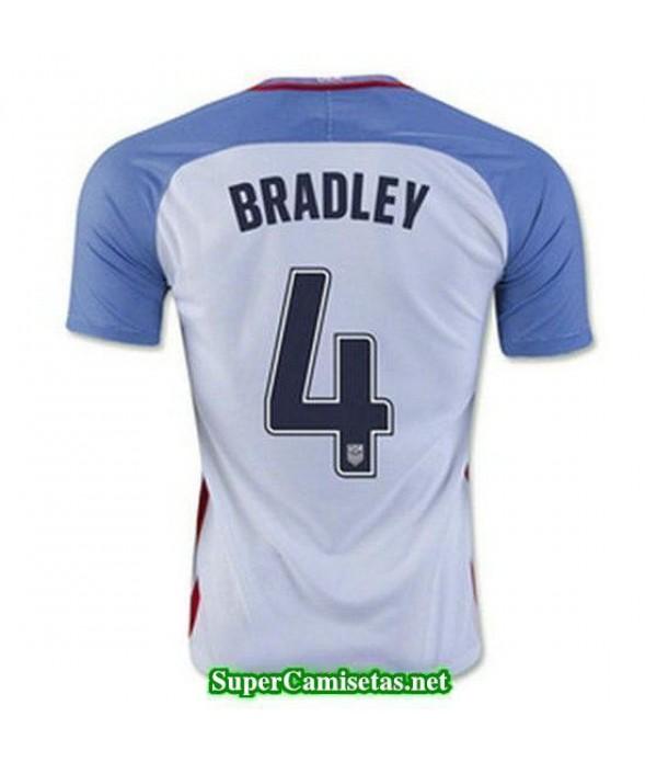 Primera Equipacion Camiseta USA Bradley Copa America 2016