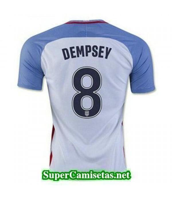 Primera Equipacion Camiseta USA Dempsey Copa America 2016