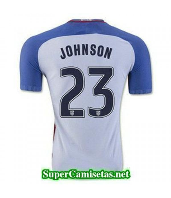 Primera Equipacion Camiseta USA JOHNSON Copa America 2016