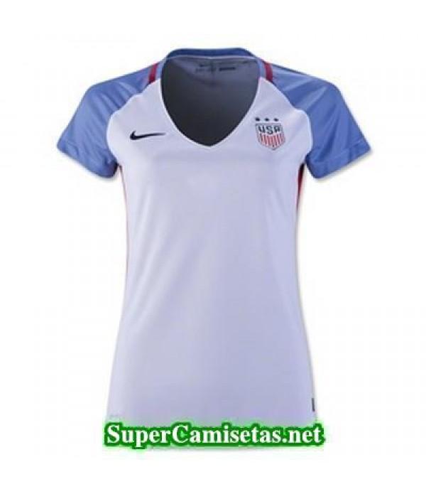 Primera Equipacion Camiseta USA Mujer Copa America 2016