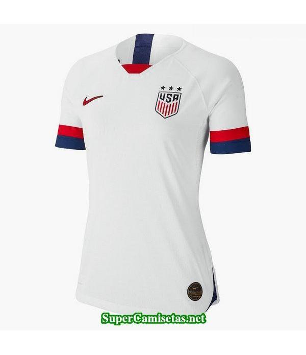 Primera Equipacion Camiseta USA Mujer Copa Mundial 2019