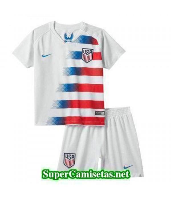 Primera Equipacion Camiseta USA Ninos 2018 2019