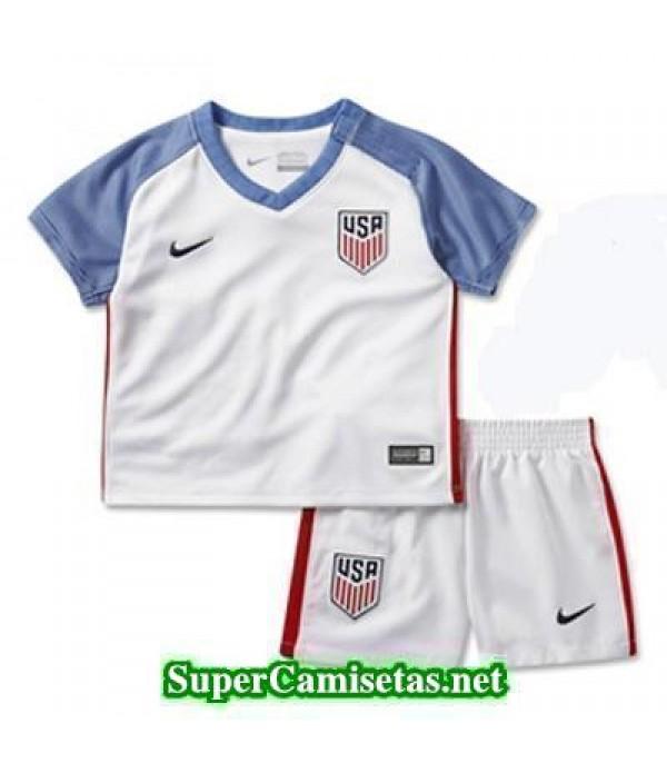 Primera Equipacion Camiseta USA Ninos Copa America 2016