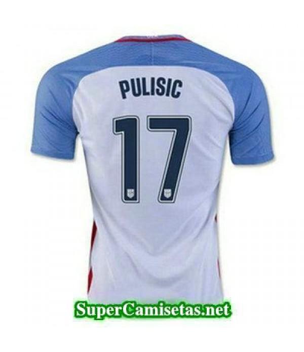 Primera Equipacion Camiseta USA PULISIC Copa America 2016