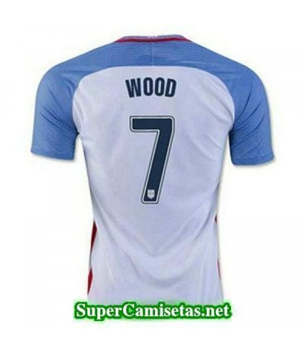Primera Equipacion Camiseta USA WOOD Copa America 2016